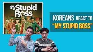 Korean guys react to Indonesian movie