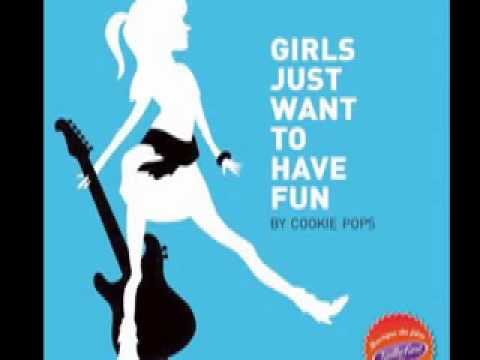 Cookie Pops- Girls Just Wanna Have Fun - YouTube Cyndi Lauper