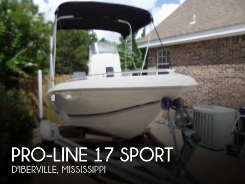 [UNAVAILABLE] Used 2005 Pro-Line 17 Sport in D'iberville, Mississippi