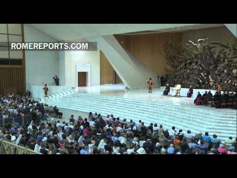 Francisco recuerda su viaje a Corea del Sur en la Audiencia General