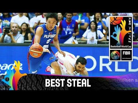 Croatia v Philippines - Best Steal - 2014 FIBA Basketball World Cup