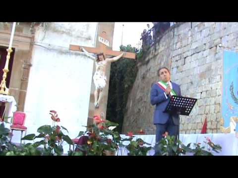 Rito di ingresso di Padre Pietro Antonio Ruggiero parte 1 a Gagliano Castelferrato EN