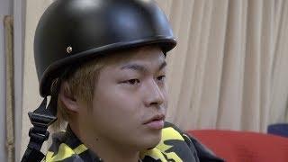 しばゆーはなんでヘルメットをかぶってるの?