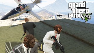 GTA 5 PC Online Lui Calibre and Friends vs Fun Haus (Sharpshooters vs Jets)