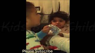 Baby Funny Video 2018 American Baby Videos Jealous Baby when Mommy holds siblings Kids Fun