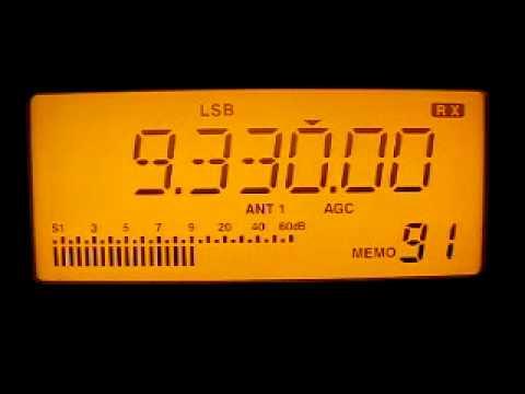 Radio Damascus 9330 kHz. 5.11.2011.