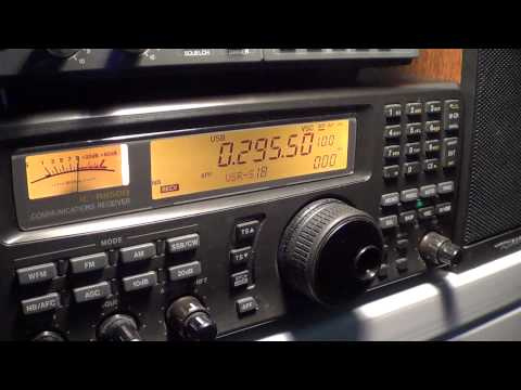 Tuning Longwave band on icom ic r 8500
