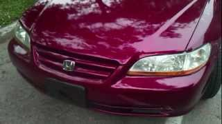 2002 Honda Accord V6 fully loaded