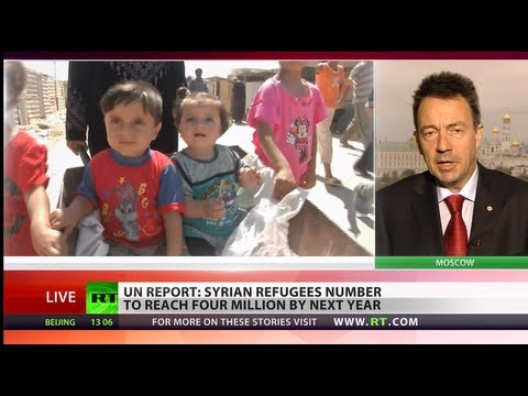 No food & water: 'Dramatic problem of Syria refugees swells daily'