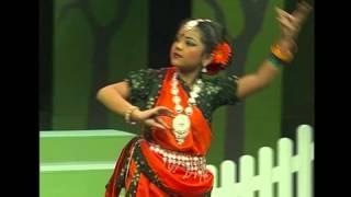 Folk Dance at BTV by Aoroba & her friend.