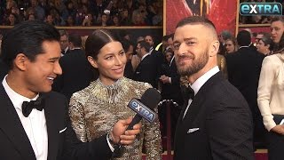 Download Lagu Justin Timberlake Reveals How Jessica Biel Helped Him 'Win' Even Before Oscars 2017 Gratis STAFABAND