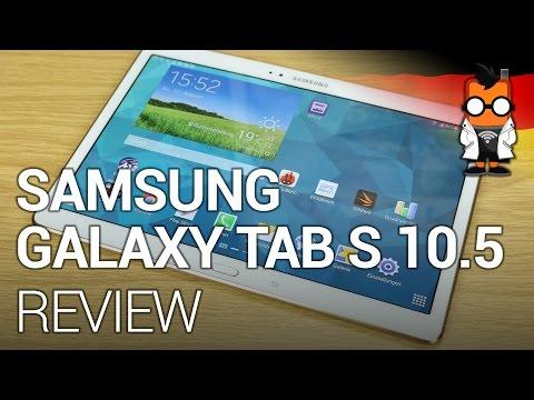Samsung Galaxy Tab S 10.5 (LTE) im Test [DEUTSCH]