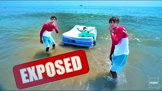 """Lucas and Marcus aka Dobre Brothers Faked """"Mom Wakes Up In Ocean Prank!"""" 