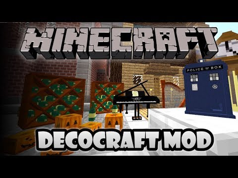 Minecraft DecoCraft Mod TARDISDISCORD AND MORE