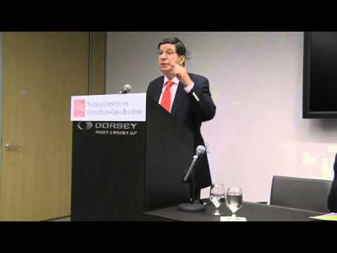 China, the United States and Central Asia: David Denoon