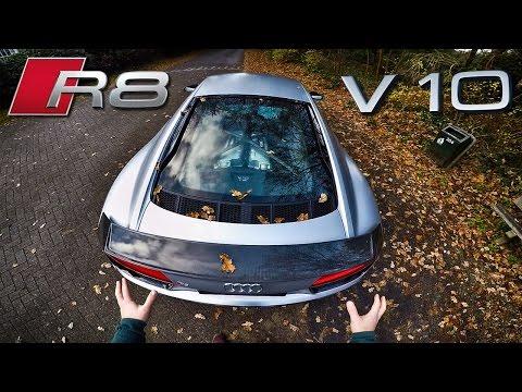 Audi R8 V10 Plus Review POV Test Drive