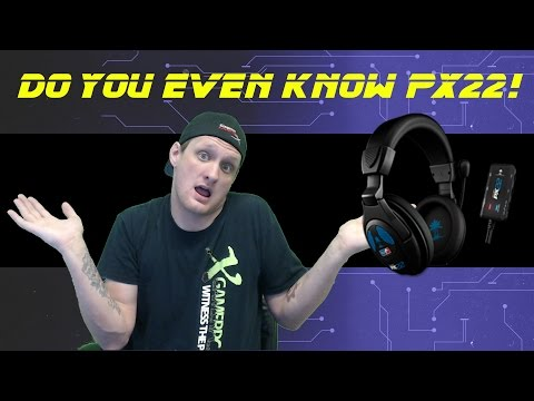 How to Set up the Turtle Beach Earforce PX22 Gaming Headset