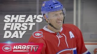 Shea Weber visits Montreal for the first time as a Hab