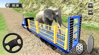 Wild Animal Zoo Transporter 3D Truck Driving - Android Gameplay [HD]