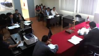 Audiencia De Juzgamiento I         Nueva Ley Laboral N� 29497 Per� (2012)