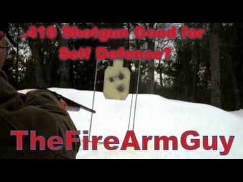 .410 Shotgun Good for Self Defense? (Range Test) - TheFireArmGuy