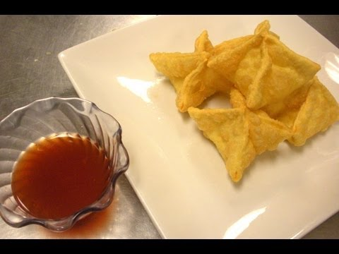 How To Make Cream Cheese Wontons &amp  Crab Rangoon