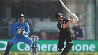 Kane Williamson does it in style.. 8 th 100 for the young champ 118 #IndvsNz 2nd Odi.