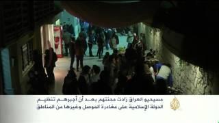 حزن في أجواء عيد الميلاد بالعراق وسوريا وفلسطين