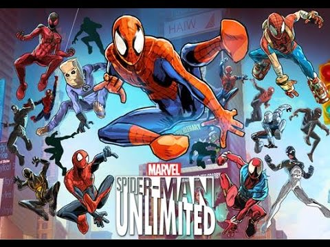 descargar spider man ulimited apk+sd Android gratis