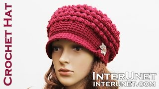 Hat crochet tutorial for beginners. Part 1 of 2