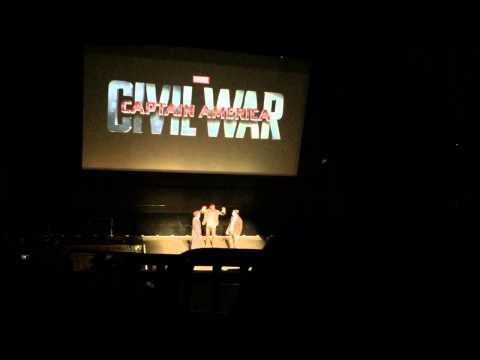 LIVE Marvel Special Captain America Civil War Intro Black Panther 2