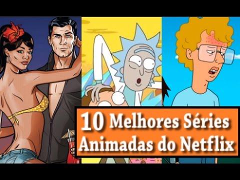 10 MELHORES SÉRIES ANIMADAS DO NETFLIX