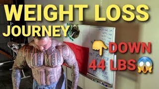 WEIGHT-LOSS JOURNEY | WEEK 11 (DOWN 44 POUNDS) - WEIGH IN - BENCH PRESS & PRISON YARD BURPEES