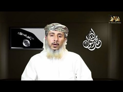 PARIS TERROR ATTACKS - Yemen's top Al-Qaeda leader claims responsibility in video