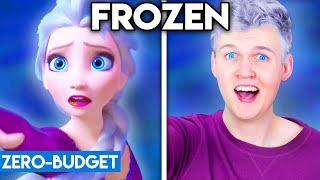 FROZEN 2 WITH ZERO BUDGET! (Into The Unknown PARODY)