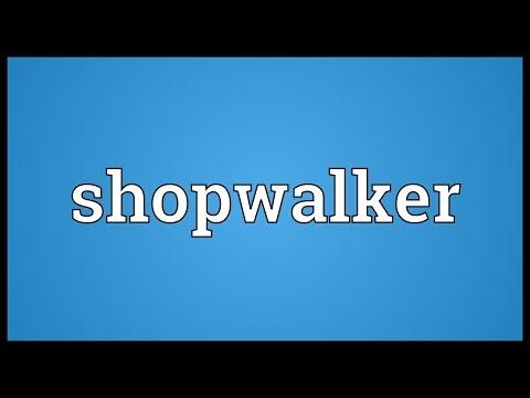Header of shopwalker
