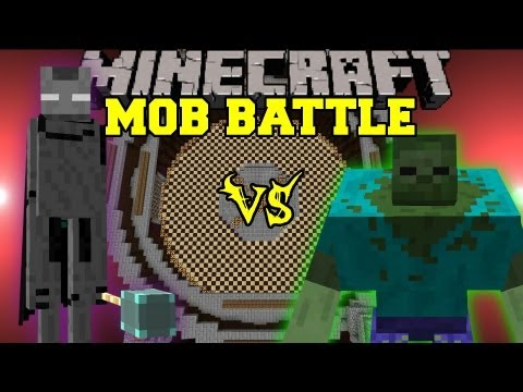 Mutant Zombie Vs. Ender Lord - Minecraft Mob Battles - Mutant Creatures and Legendary Beasts