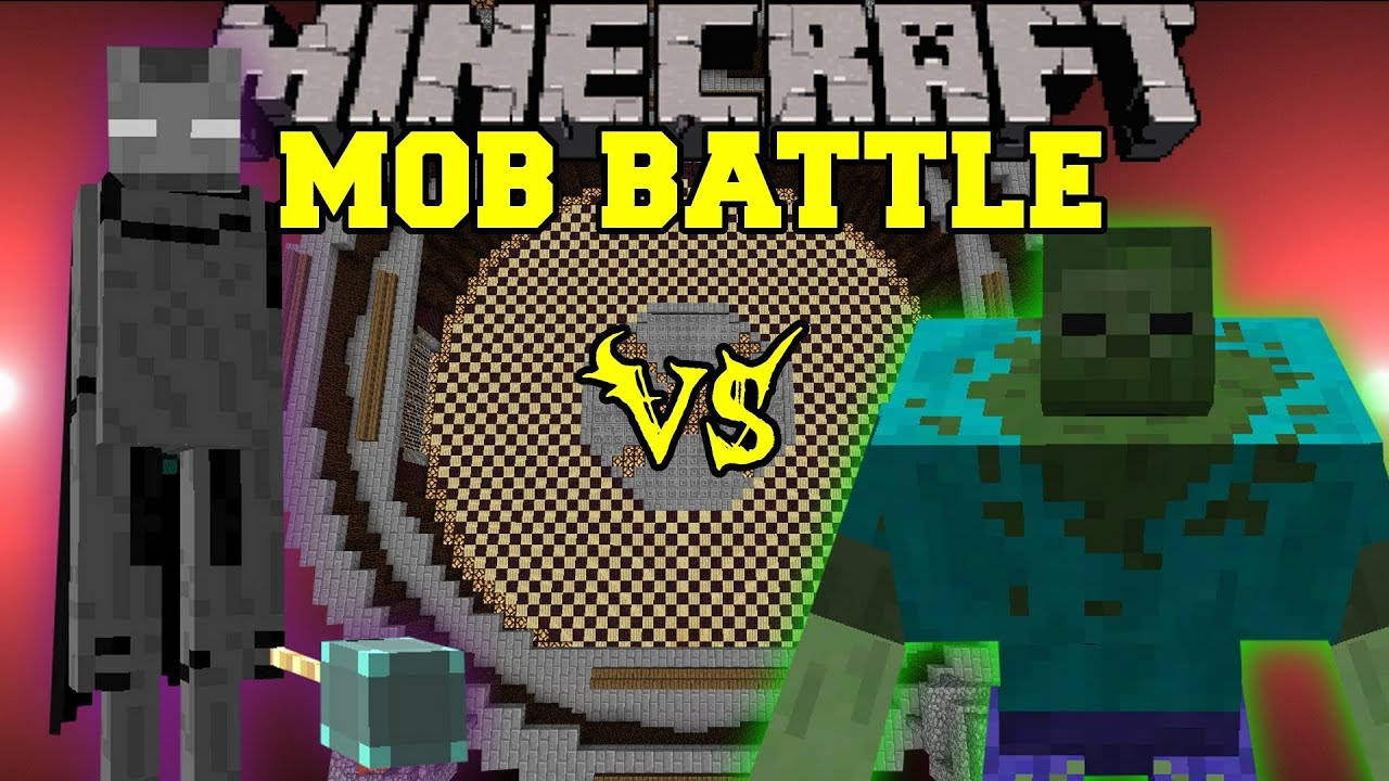 Mutant Zombie Vs. Ender Lord - Minecraft Mob Battles