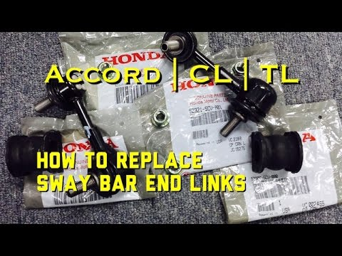 Sway Bar Link Replacement Honda Acura   Accord   Sway Bar End Links Replacement   TL   CL   Accord