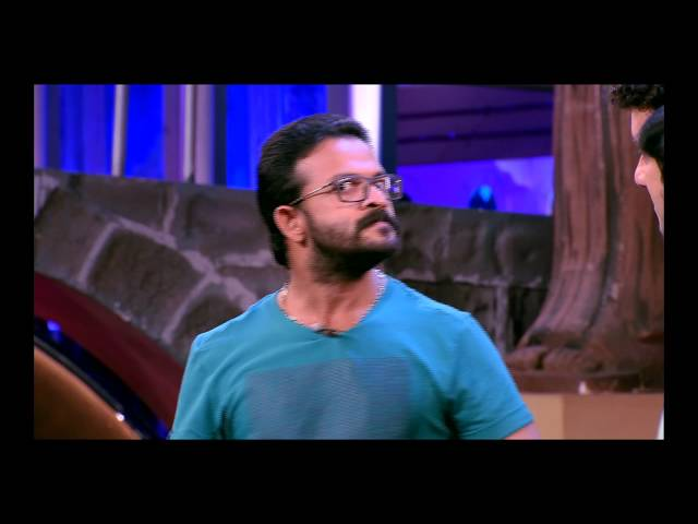 JAYASURYA with RAMESH PISHARADY in CINEMAA CHIRIMAA on 30th Oct. 2014