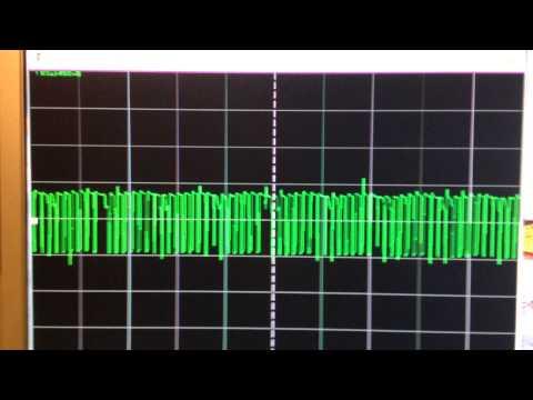 Исследование фонарика Акулы. Ферит генератор пачек.
