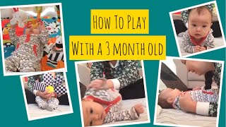 How To Play With A 3 Month Old Baby
