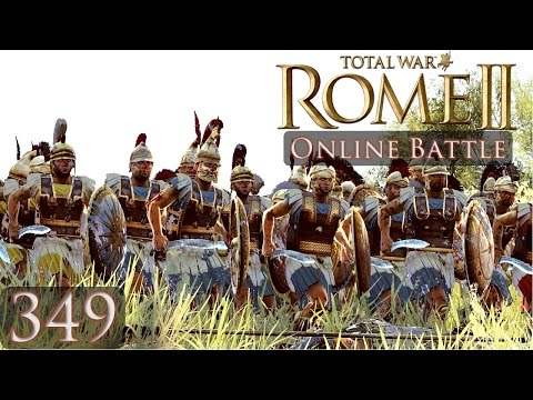 Total War Rome 2 Online Battle 349 Egypt vs Carthage
