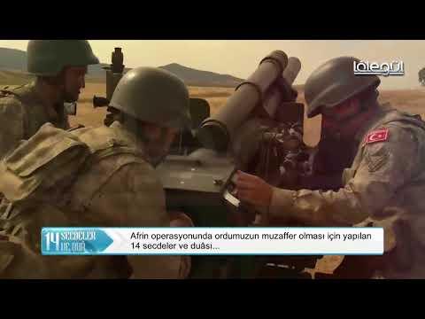 Afrin Operasyonu İçin Cuma Sabah Namazında Cemaat İle Birlikte Ordumuza Dua