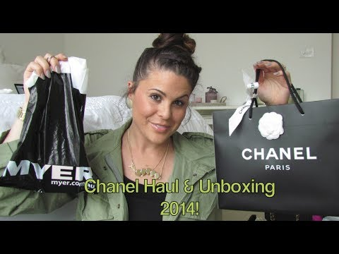 Chanel Haul & Unboxing 2014!