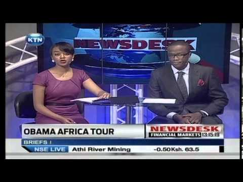 President Obama's Africa tour begins today