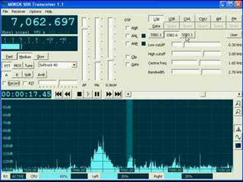 Ham Radio KGKSDR software on SSB