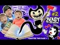 DONT SCARE MY BABY! Bendy and the Ink Machine #2 CHAPTER TWO (FGTEEV plays SCARY MICKEY MOUSE Game)