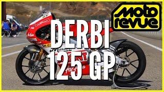 Essai Derbi 125 GP de Johann Zarco - Moto Revue