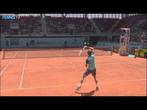 Madrid 2015 Thursday Dimitrov Hot Shot